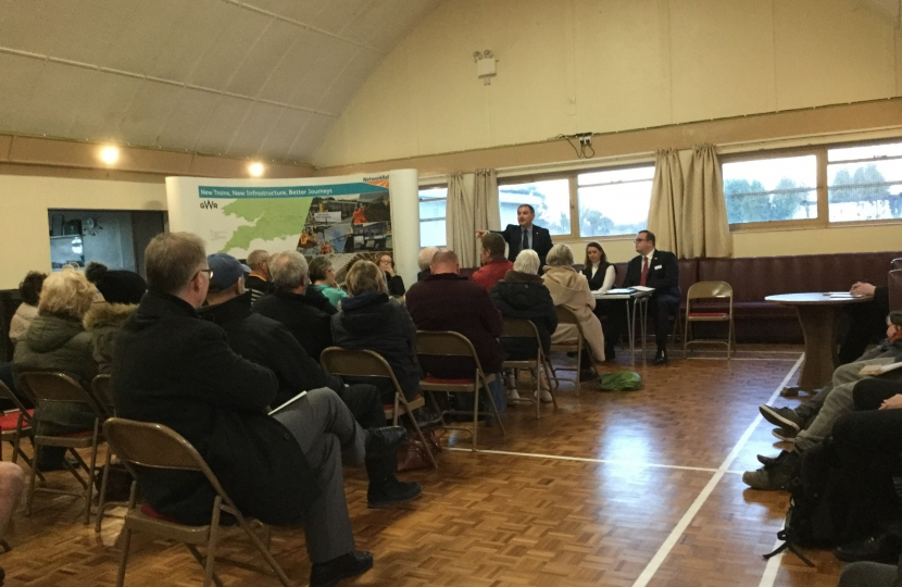 Severn Beach Railway public meeting