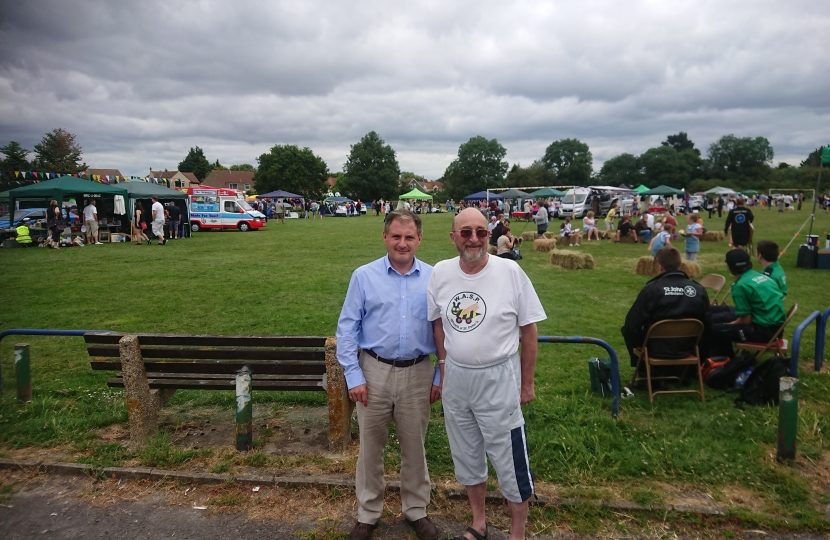 Jack Lopresti MP and Cllr Robert Griffin