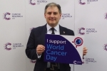 Jack Lopresti MP, Cancer Research UK